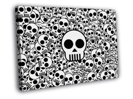 Creative Art A lot of Skulls 30x20 FRAMED CANVAS - $19.95