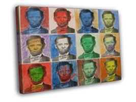 Lincoln Obama Mashup Boston Street Art 30x20 FR... - $19.95