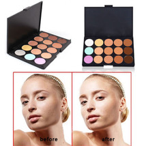 50 Pack New Professional 15 Concealer Camouflage Makeup Palette - $3.485,32 MXN