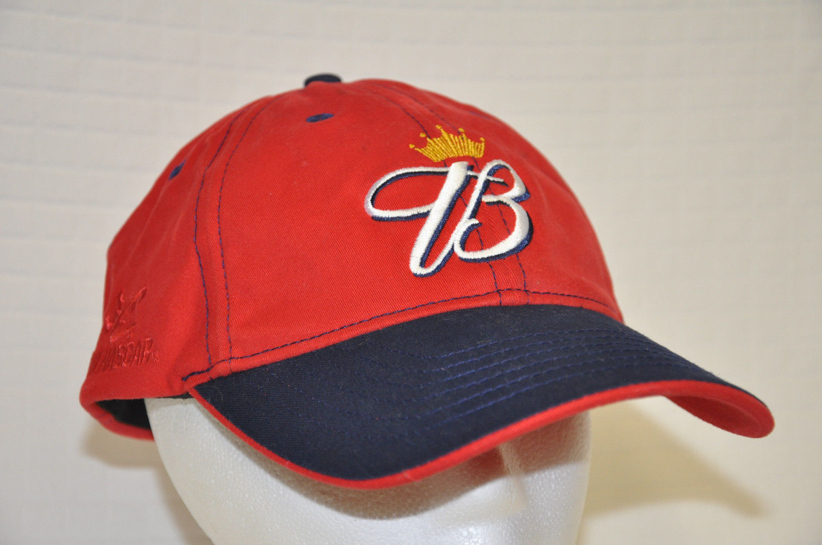 BUDWEISER Red NASCAR Fitted DALE Jr #8 Racing BASEBALL Cap HAT Chase COTTON Guc