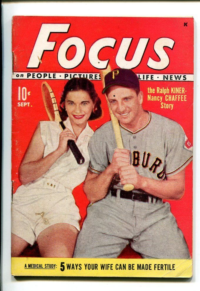 Primary image for FOCUS #1-04/1951-2ND ISSUE-RALPH KINER-FOOTBALL-SOUTHERN STATES-fn
