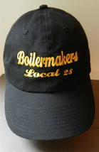 "Hipster TRUCKER HAT Black ""BOILERMAKERS Local 28"" USA Flag Baseball Cap - $24.09"