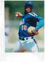Dwight Gooden New York Mets 4C Vintage 11X14 Color Baseball Memorabilia ... - $14.95