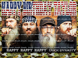 DUCK DYNASTY : Personalized edible image cake topper 1/4 sheet - $8.78+