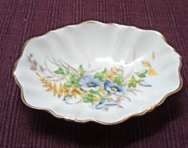 Vintage  DUCHESS BONE CHINA Floral Bon Bon Dish // Soap // Trinket Dish - $8.99