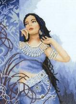"""Редкий"" Lanarte Romantic cross stitch collection Beanty in blue арт 35068a - $53.00"