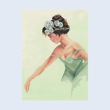 Lanarte Romantic cross stitch collection BALLERINA 35012 size 29\39cm - $43.00