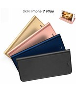 Flip Window Shockproof Leather Case Cover for iPhone 7 Plus - $10.00