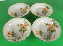 Meito China Norleans SUN GLORY Berry Fruit Bowl (s) LOT OF 4 Occupied Japan - $17.77