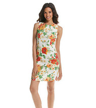AGB Womens Floral Sheath Dress Size 12 Original Price $68 - New with Tags - $23.77