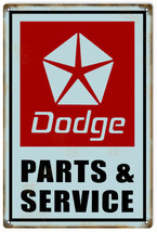 Reproduction Dodge Parts & Service Sign - $25.74