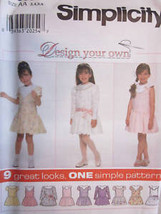 **Simplicity Pattern 7609 Design Your Own Dress UNCUT - $4.89