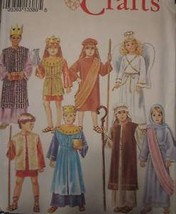 Simplicity Pattern 8153 Childs Christmas Pagent Costumes UNCUT Vintage S... - $4.89