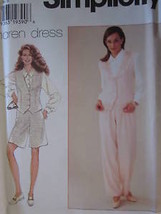 7334 Simplicity Vintage SEWING Pattern Misses Jacket Pants UNCUT Maren O... - $6.99