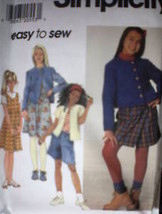 **Simplicity Pattern 7725 Jumper Jacket Shorts UNCUT - $4.89