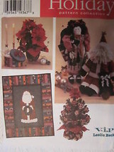 UNCUT Vintage Simplicity SEWING Pattern 7322 LESLIE BECK Christmas Designs - $4.19