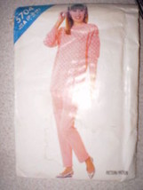 Vintage Butterick Pattern 1980s Top Shirt Pants 6 8 10 SEWING - $4.33