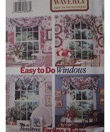 Vintage Butterick SEWING Pattern 3395 Waverly Window Scarfs UNCUT OOP - $4.33