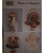 "Vintage Butterick SEWING Pattern 3974 11"" Angel Wall Hangings UNCUT - $4.19"