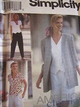 Vintage Simplicity SEWING Pattern 8239 Misses Jacket Pants Top UNCUT Classic OOP - $4.89