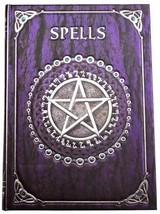 Spell Book purple journal                      ... - $12.95