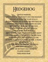 Hedgehog Prayer                                ... - $1.95