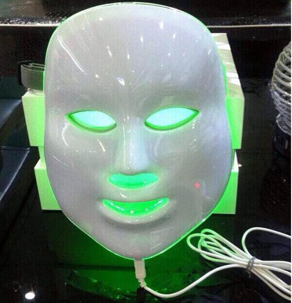 face therapy mask wrinkle acne pores skin rejuvenation led. Black Bedroom Furniture Sets. Home Design Ideas