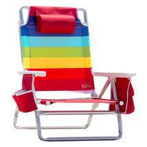 NEW Nautica Beach Lounge Patio Pool Recliner Chair Lightweight+Insulated... - €60,10 EUR