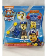 Nickelodeon Paw Patrol Action Pack Chase Figure With 2 Clip On Uniforms ... - $17.82