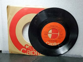"""Helen Reddy """"Thank You"""" """"You're My World"""" LP 45 Capitol Records 1977 - $7.43"""