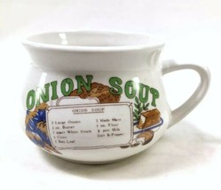 """5.5"""" Ceramic Onion Soup Recipe Bowl with Handle - $2.93"""