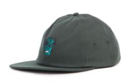 Vans x Marvel Hulk Strapback Jockey Hat Dark Green - $24.99