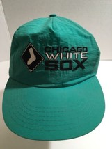 Chicago Whitesox Vintage Green Cap Snap Back Hat Annco Mlb Green Old Logo Rare - $41.80
