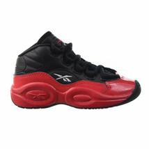 Reebok Question Mid 'Street Sleigh' Little Kids' Shoes Black-Vector Red ... - $50.25