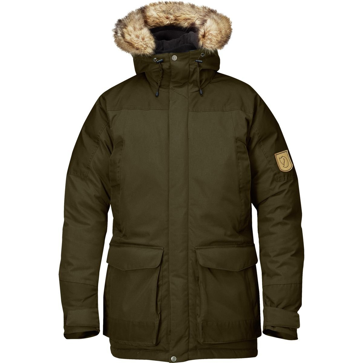 Fjallraven Men's Kyl Parka, Small, Dark Olive