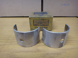 Ford V8-60 Main Bearing 1 & 2 Pair Hot Rod Flathead 1940 Standard 60 HP ... - $89.05