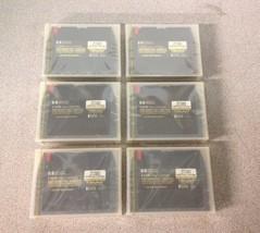 QTY6 Lot Hewlett Packard C4436 Data Cartridgde 14 GB Preformatted Tapes - $30.00