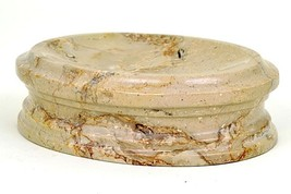 Soap Dish for Kitchen or Bathroom made of Natural Imported Sahara Beige ... - $28.01