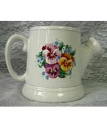 HALLMARK Spring Pansies Pansy Flowers Watering Can Coffee Mug - $4.00