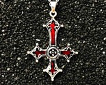Ndant necklace vintage gothic cross pendant necklace lucifer satan satanic jewelry thumb155 crop