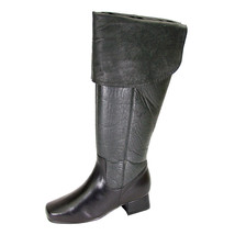 PEERAGE Mira Women Wide Width Leather Knee High Dress Boots - $116.95