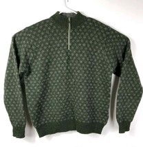 J Crew Outfitters Mens Sz XL Sweater Vintage Crewneck Pullover Wool Gree... - $35.53