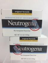 Neutrogena Transparent Facial Bar, Original Formula, Fragrance Free, 3.5... - $9.37