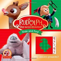 Rudolph the Red-Nosed Reindeer Slide and Find [Board book] Priddy, Roger - $1.83
