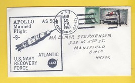 APOLLO 9 NAVY RECOVERY FORCE ATLANTIC U.S.S. GUADALCANAL MARCH 13 1969 - $1.78