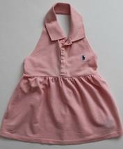 Ralph Lauren Girls Blush Pink Top Shirt Open Back Size 6 NWT - $17.99