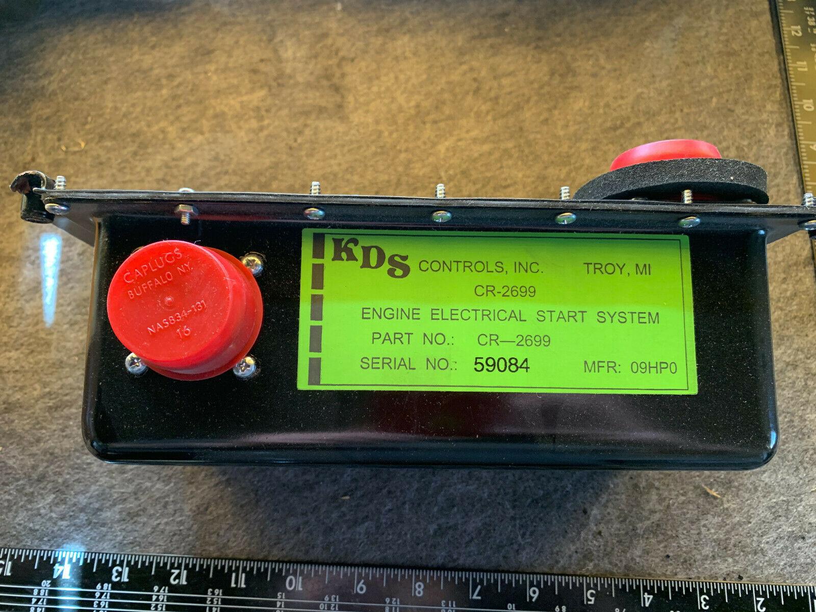 New HMMWV KDS CR2699 engine electrical smart start system 6110-01-491-2142