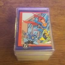 1993 DC Comics Skybox Justice League Complete Set 1 - 150 Super Man Flash ! - $16.20