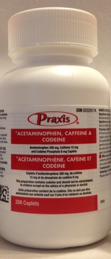 Codeine 3 how many mg