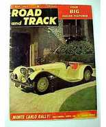 May 1953 Road and Track Magazine-Jaguar-Monte Carlo Rally - $3.99